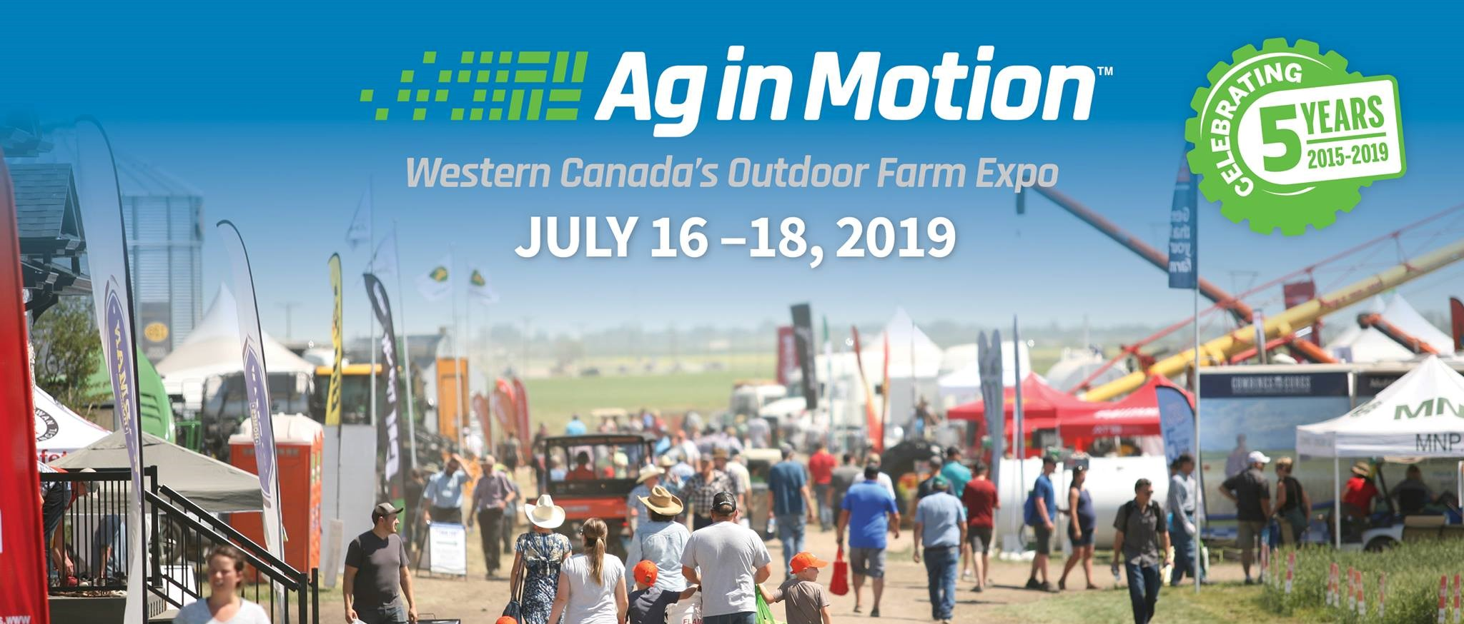 As a HARVEST 19 winner, Sensoterra will attend Ag in Motion 2019 - Saskatchewan (Canada)