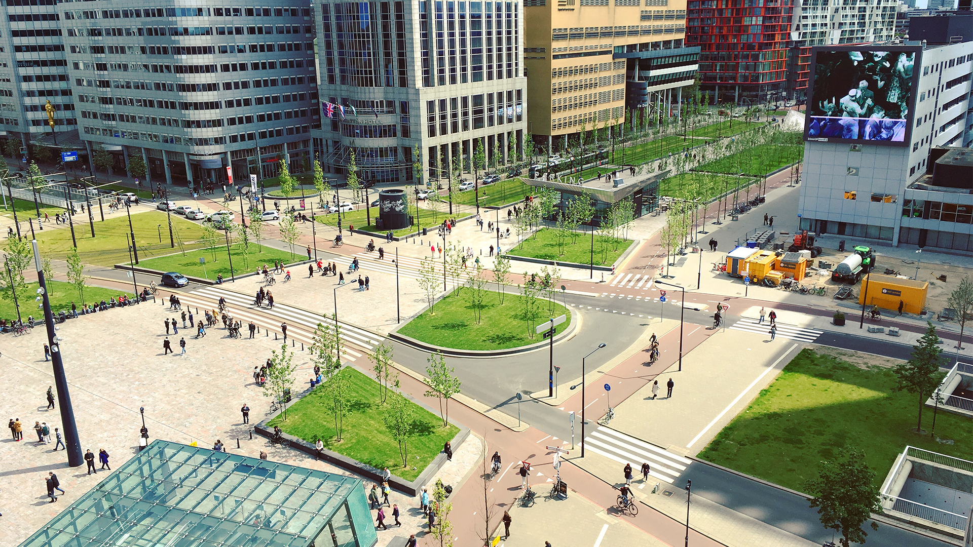 Smart technology for healthy urban landscapes