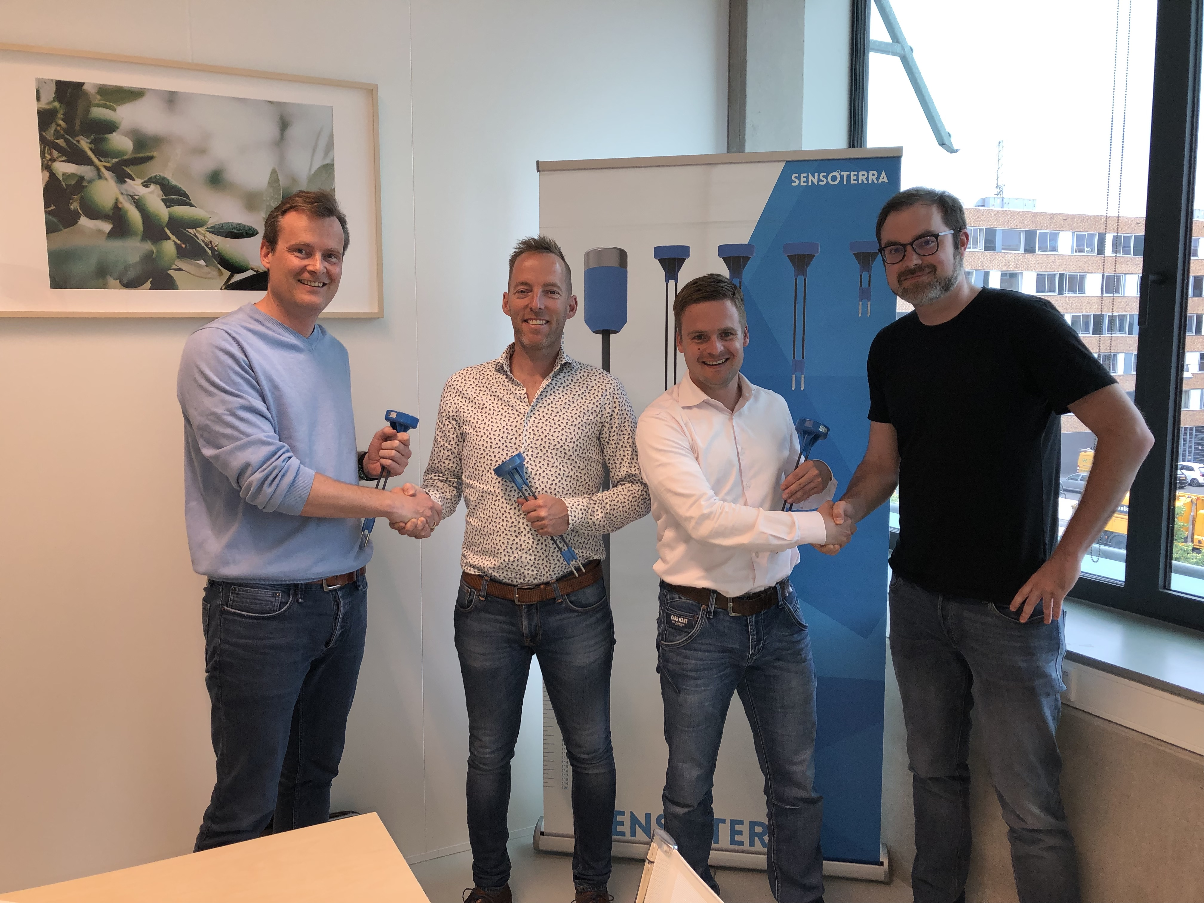 Sensoterra partners with JoinData to bring data-driven irrigation decisions to Dutch growers